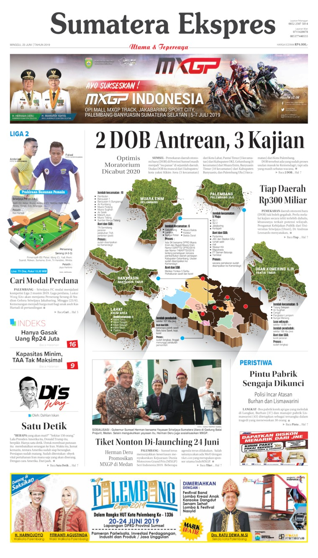 Koran Digital Sumatera Ekspres 23 Juni 2019