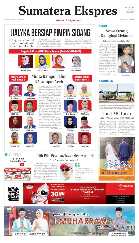 Koran Digital Sumatera Ekspres 02 September 2019