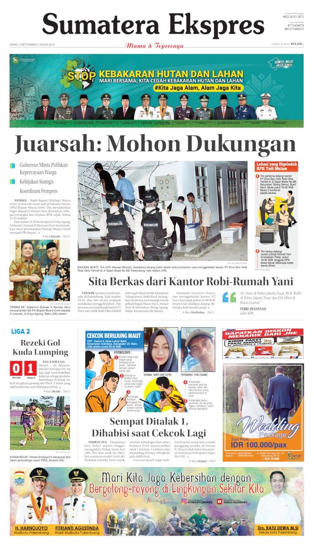 Koran Digital Sumatera Ekspres 05 September 2019