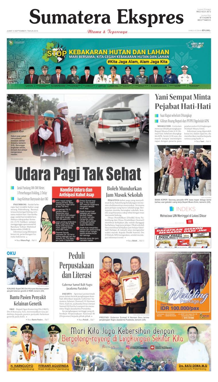 Koran Digital Sumatera Ekspres 06 September 2019