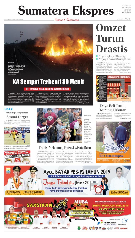 Koran Digital Sumatera Ekspres 09 September 2019