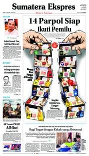 Cover Sumatera Ekspres 19 Februari 2018
