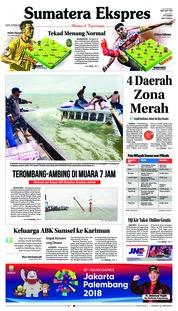 Cover Sumatera Ekspres 26 Februari 2018