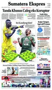 Cover Sumatera Ekspres 16 September 2018