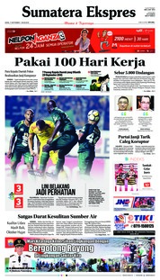 Cover Sumatera Ekspres 17 September 2018