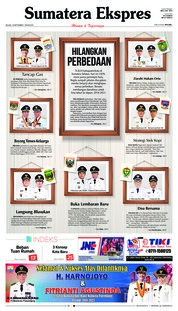 Cover Sumatera Ekspres 18 September 2018