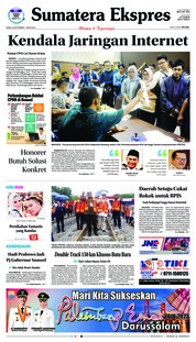 Sumatera Ekspres Cover 20 September 2018
