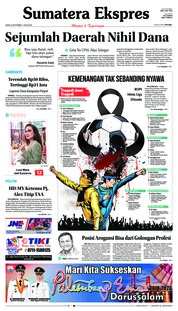 Cover Sumatera Ekspres 25 September 2018