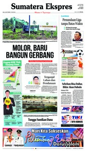 Cover Sumatera Ekspres 26 September 2018
