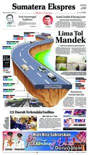 Cover Sumatera Ekspres 16 Oktober 2018
