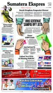 Cover Sumatera Ekspres 17 Oktober 2018