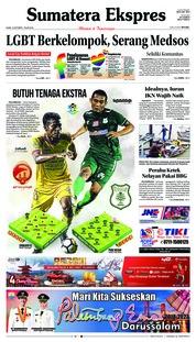 Cover Sumatera Ekspres 18 Oktober 2018
