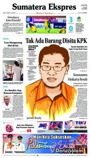 Sumatera Ekspres Cover 19 October 2018