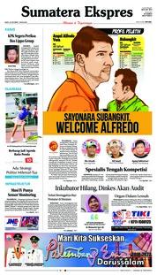 Cover Sumatera Ekspres 20 Oktober 2018