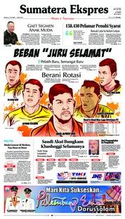 Cover Sumatera Ekspres 21 Oktober 2018