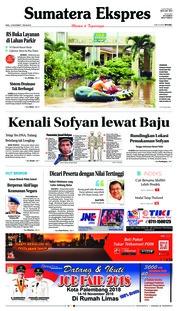 Cover Sumatera Ekspres 14 November 2018