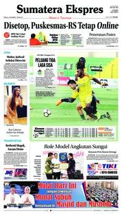 Cover Sumatera Ekspres 18 November 2018