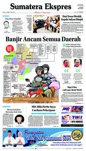 Cover Sumatera Ekspres 21 November 2018