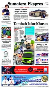 Cover Sumatera Ekspres 22 November 2018