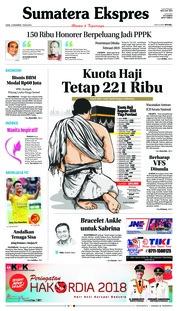 Cover Sumatera Ekspres 13 Desember 2018