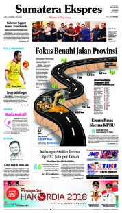Cover Sumatera Ekspres 14 Desember 2018