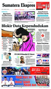 Cover Sumatera Ekspres 17 Desember 2018
