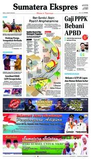 Cover Sumatera Ekspres 21 Januari 2019