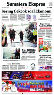 Cover Sumatera Ekspres 11 Februari 2019