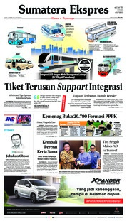 Cover Sumatera Ekspres 15 Februari 2019