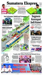 Cover Sumatera Ekspres 17 Februari 2019
