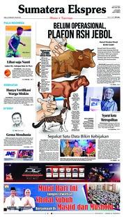 Cover Sumatera Ekspres 20 Februari 2019