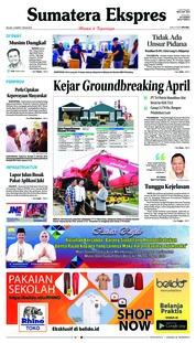 Cover Sumatera Ekspres 12 Maret 2019