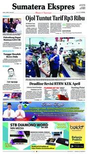 Cover Sumatera Ekspres 14 Maret 2019