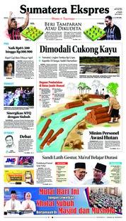 Cover Sumatera Ekspres 17 Maret 2019