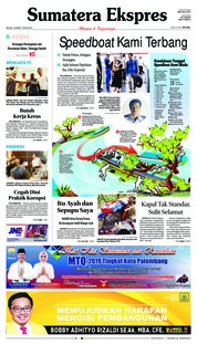 Sumatera Ekspres Cover 19 March 2019