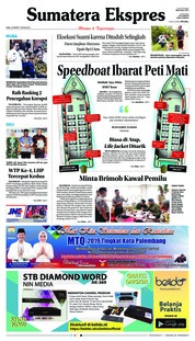 Cover Sumatera Ekspres 20 Maret 2019