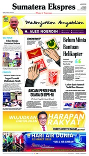 Sumatera Ekspres Cover 25 March 2019