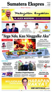 Sumatera Ekspres Cover 26 March 2019