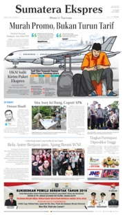 Cover Sumatera Ekspres 15 April 2019