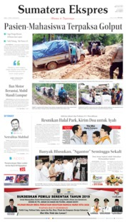 Sumatera Ekspres Cover 17 April 2019