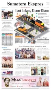 Cover Sumatera Ekspres 22 April 2019