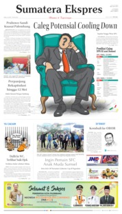Cover Sumatera Ekspres 24 April 2019