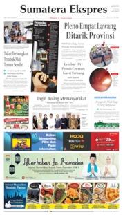 Sumatera Ekspres Cover 08 May 2019