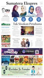 Sumatera Ekspres Cover 09 May 2019