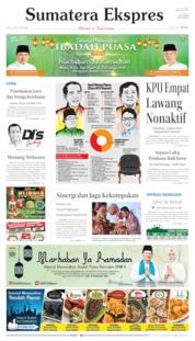 Sumatera Ekspres Cover 10 May 2019