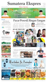 Sumatera Ekspres Cover 12 May 2019