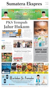 Sumatera Ekspres Cover 14 May 2019