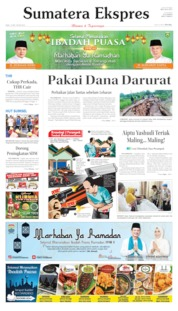 Sumatera Ekspres Cover 15 May 2019