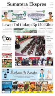 Sumatera Ekspres Cover 16 May 2019