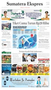 Sumatera Ekspres Cover 17 May 2019